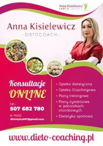 konsultacje online dietetyk Anna Kisielewicz