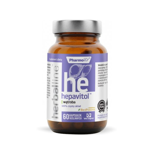 Herballine Hepavitol 60 kapsułek Pharmovit