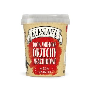 Masło orzechowe mega crunchy 400 g