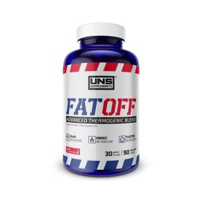 Spalacz tłuszczu UNS Fat Off 90 kaps