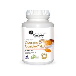 Kurkumina + Piperyna Curcumin C3 Complex PLUS (60kaps) Aliness